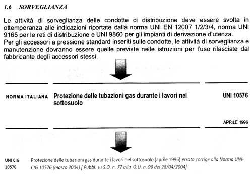 norma legge 46 90 tubazioni metano gpl